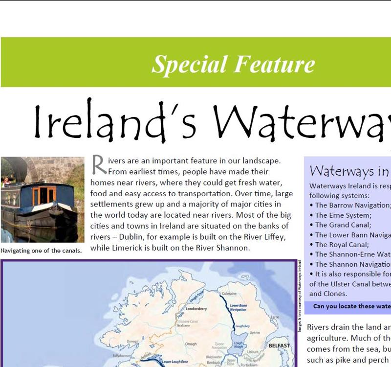 Waterways Ireland feature in the latest issue of Nature's Web!