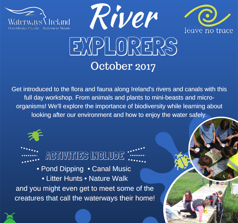 River Explorers Programme takes off in October!
