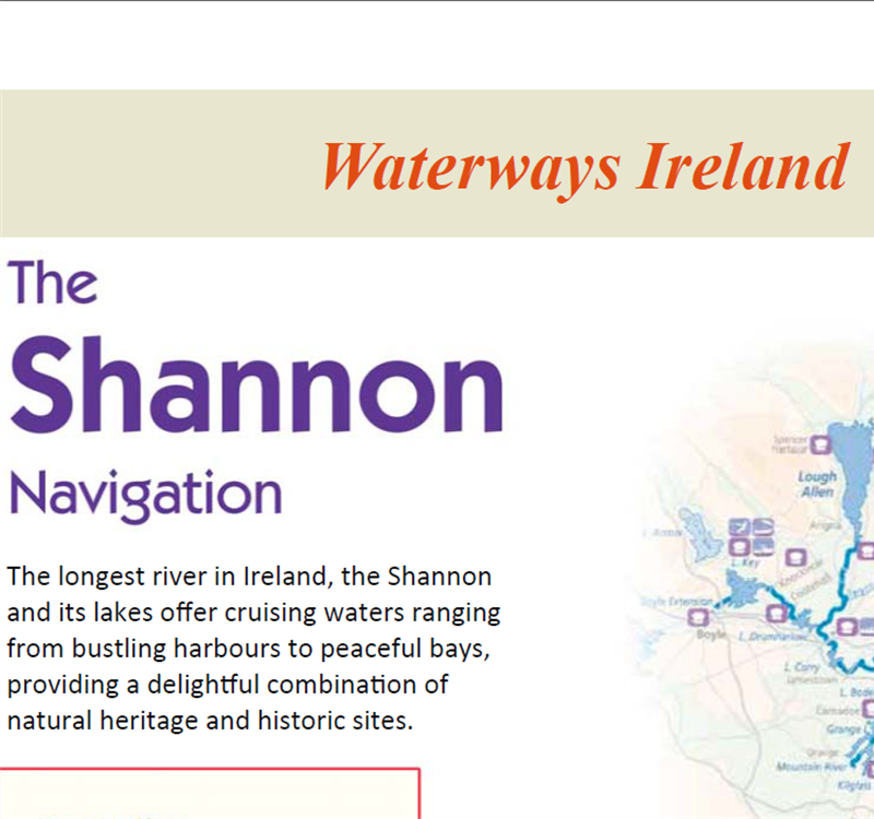 Nature's Web Magazine feature the River Shannon!
