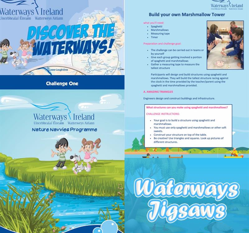 Education updates on Waterways Irelands social media